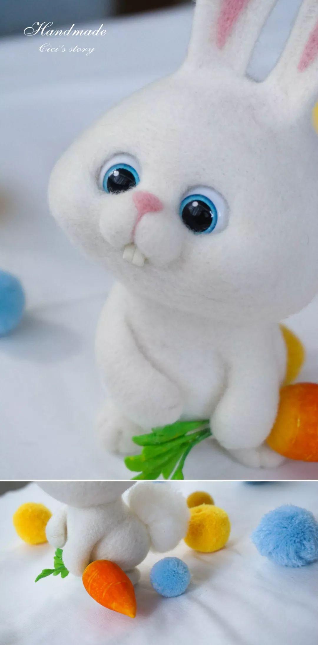 羊毛毡手作小动物10节课报名,把超可爱的