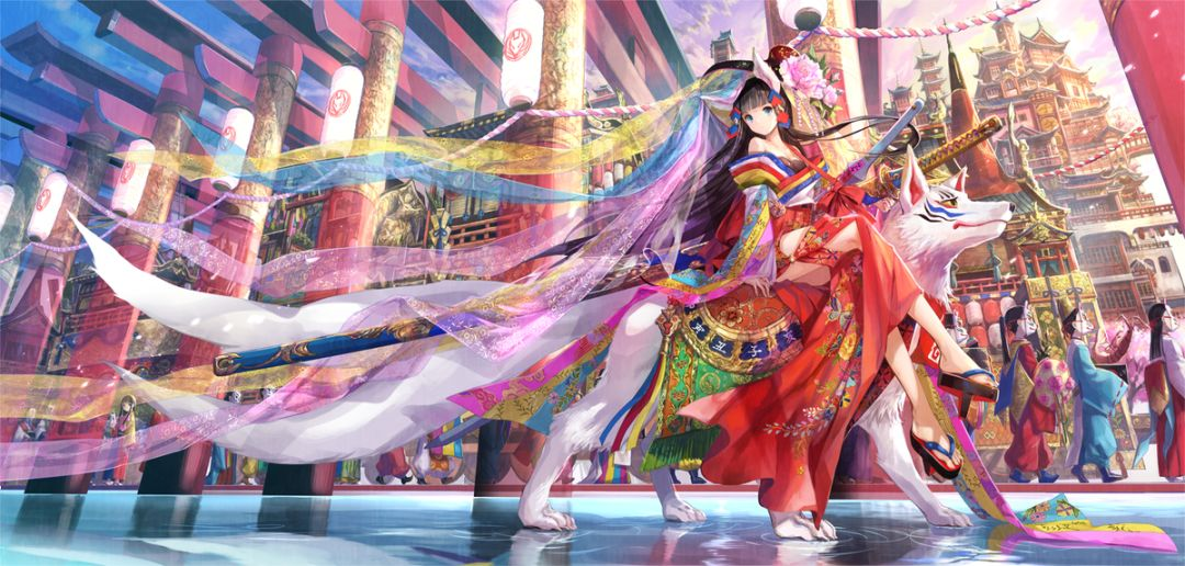 喜欢日式美少女插画?那你需要来认识一下这位画师了