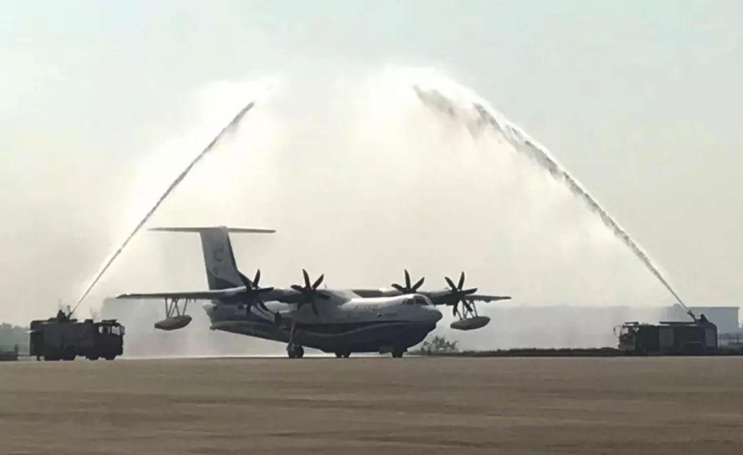 祝贺!ag600两栖大飞机陆上首飞成功 现场高清照曝光