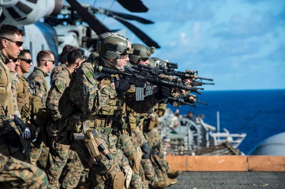 ▲海军陆战队远征队士兵(美国海军陆战队网站)
