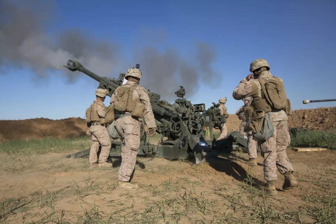 ▲资料图片:2016年,海军陆战队远征队在伊拉克作战。(美国海军陆战队)