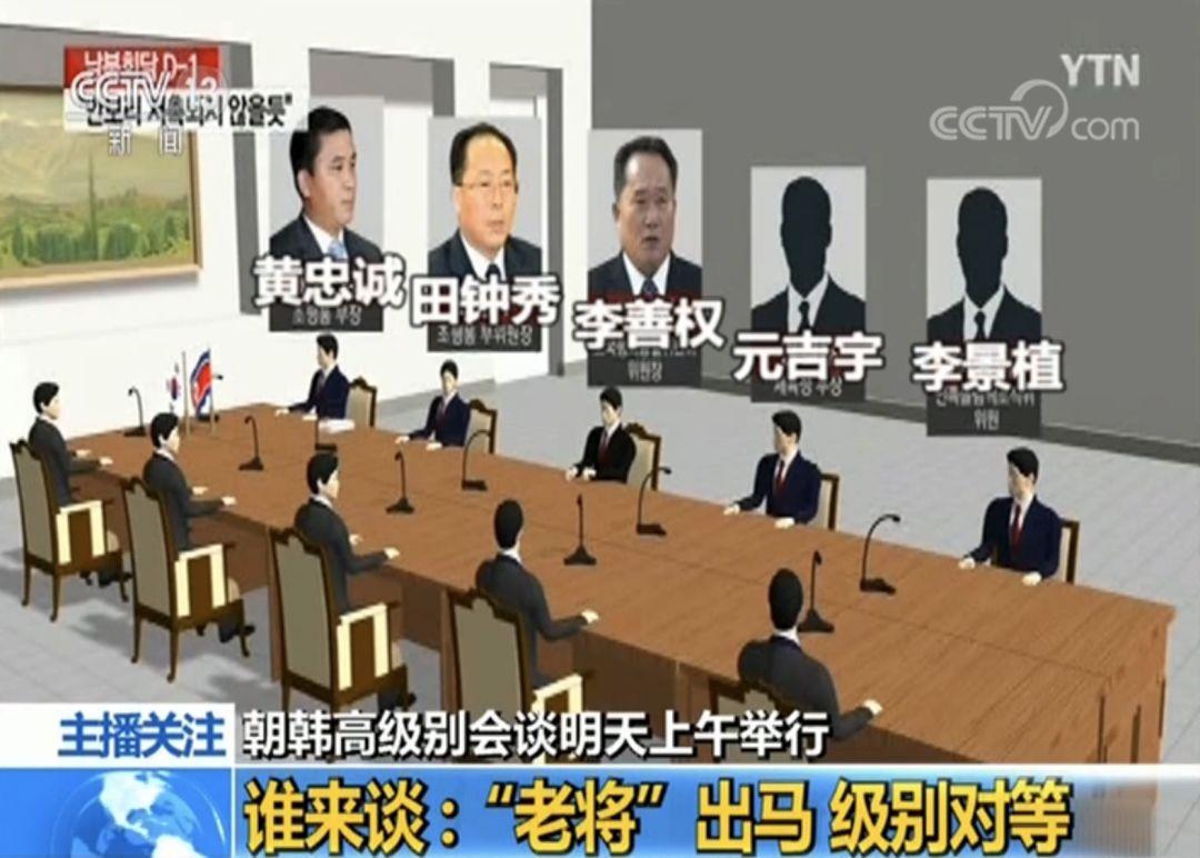 朝韩高级别会谈重启!从代表团名单读懂会谈信号