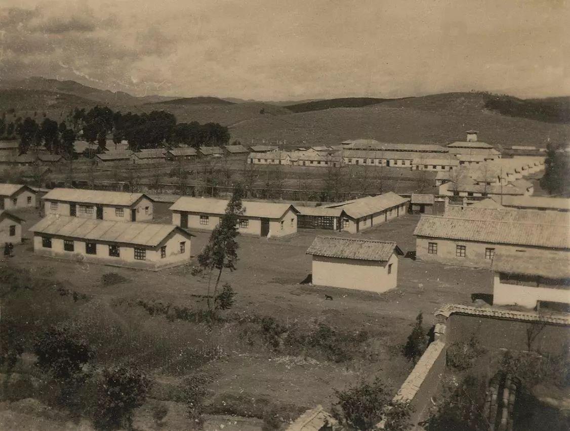 抗战时期国立西南联合大学校舍旧影