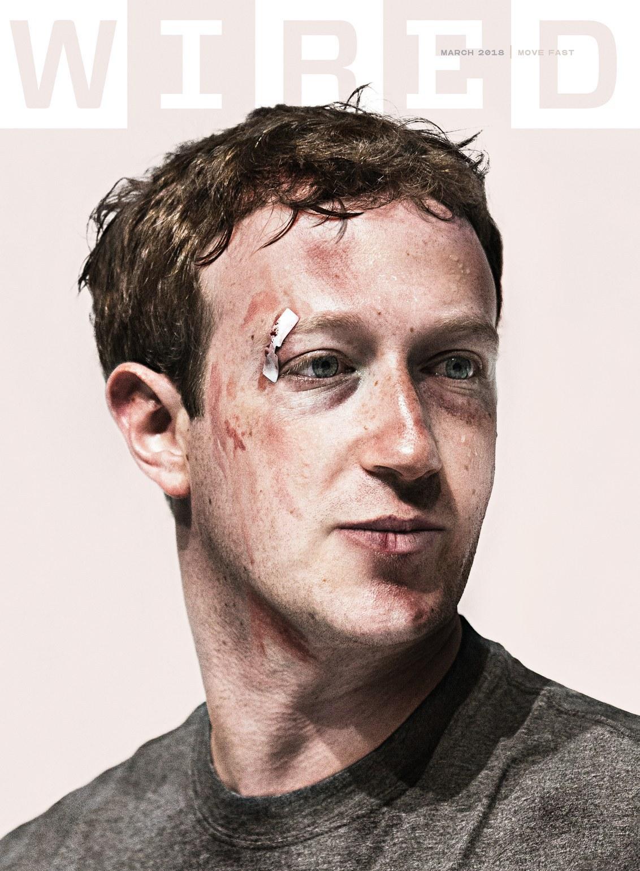 《连线》杂志封面报道:这两年,动荡的Facebook和受伤的扎克伯格