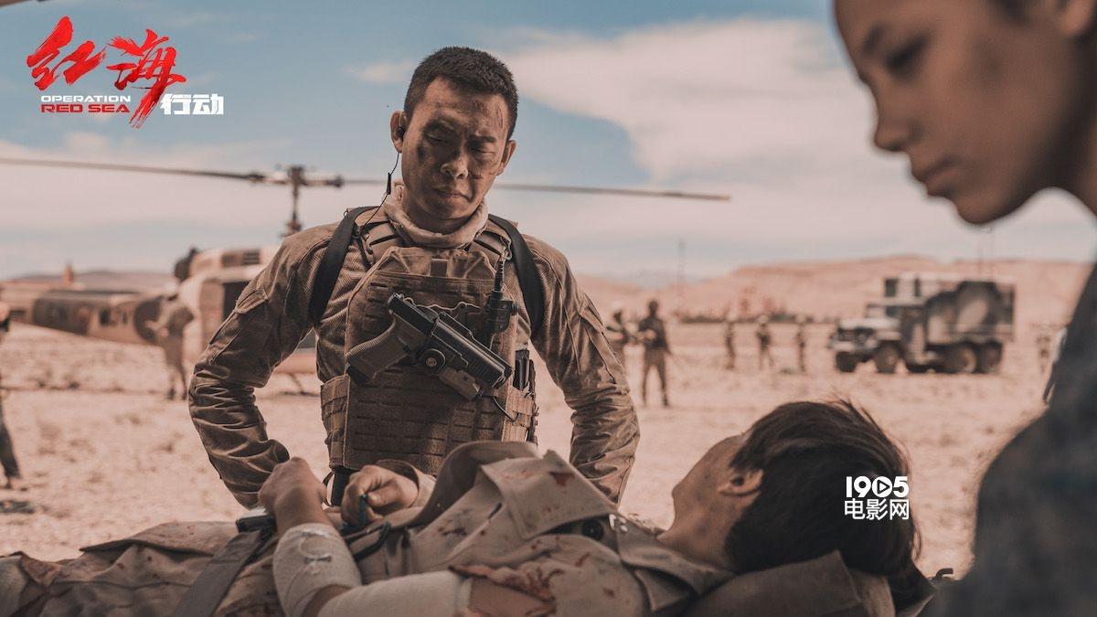 《红海行动》军用机种亮相 蛟龙突击队如神兵天降