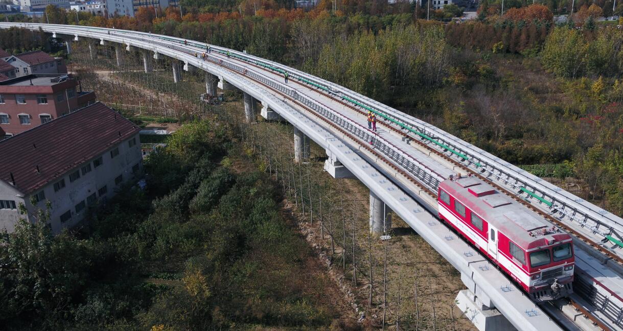 青岛地铁13号线今天实现轨通,明年咱们就可以坐这条全省最长的地铁了