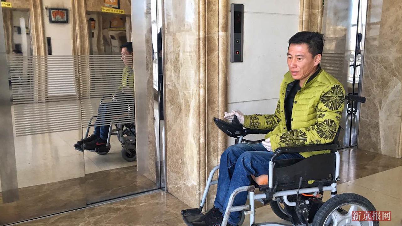 国内首例核辐射案受害者来京治疗:想多活几天 陪陪儿子
