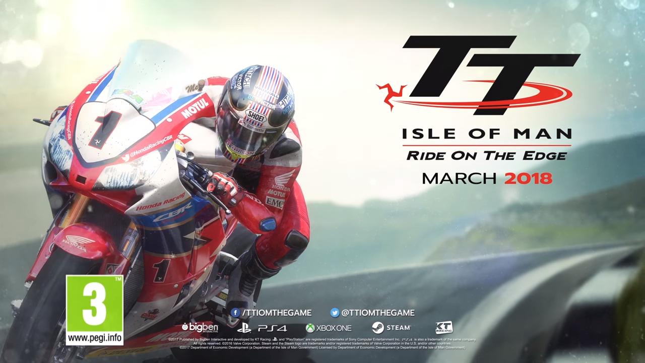《曼岛TT摩托车大赛》公布预购奖励DLC