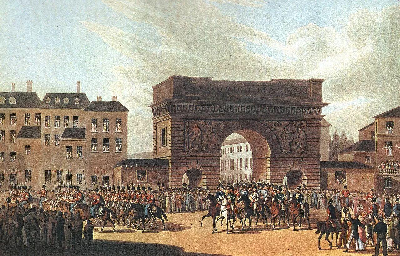 ▲1814年,俄军进来巴黎。(维基百科)