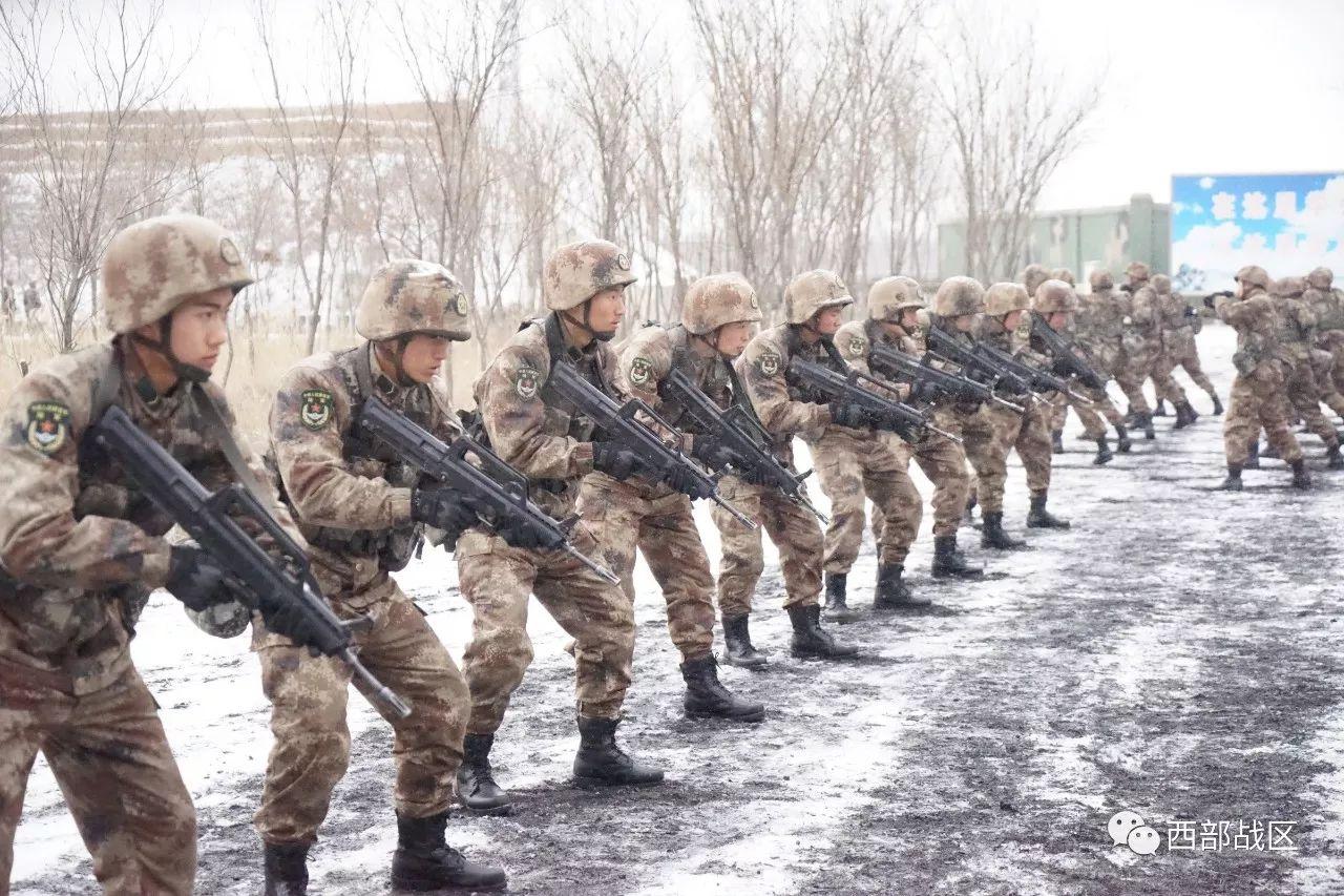沙场冬点兵,西部战区陆军年度训练这样启步|陆