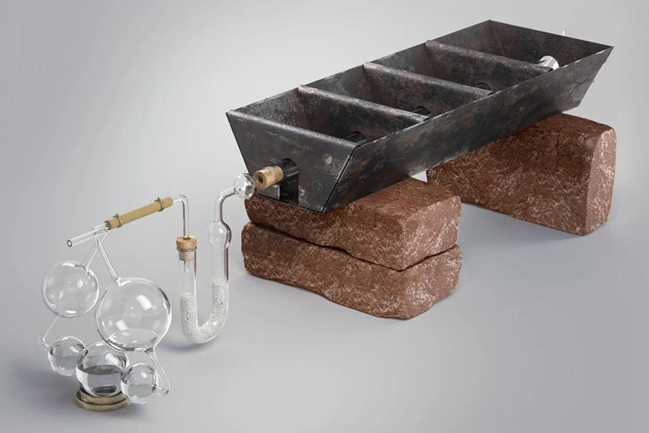△梁琰团队复原的历史上的化学实验装置