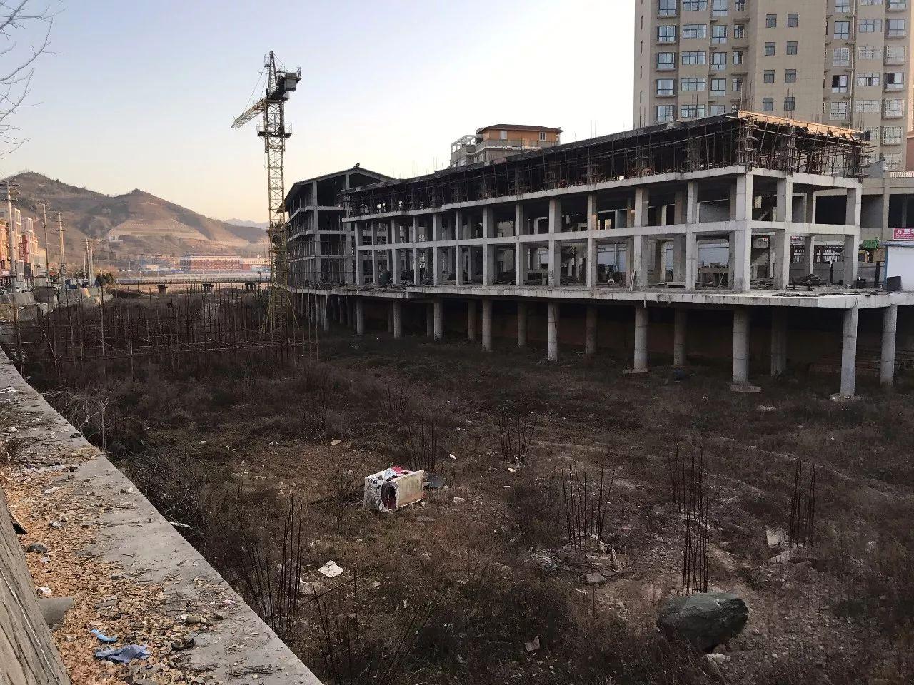 ▲卢氏水街。新京报记者 贾世煜 摄