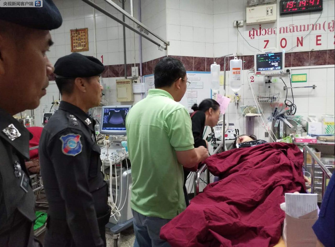 泰国一旅游中巴发生重大交通事故 9名中国游客受伤多人伤势较重