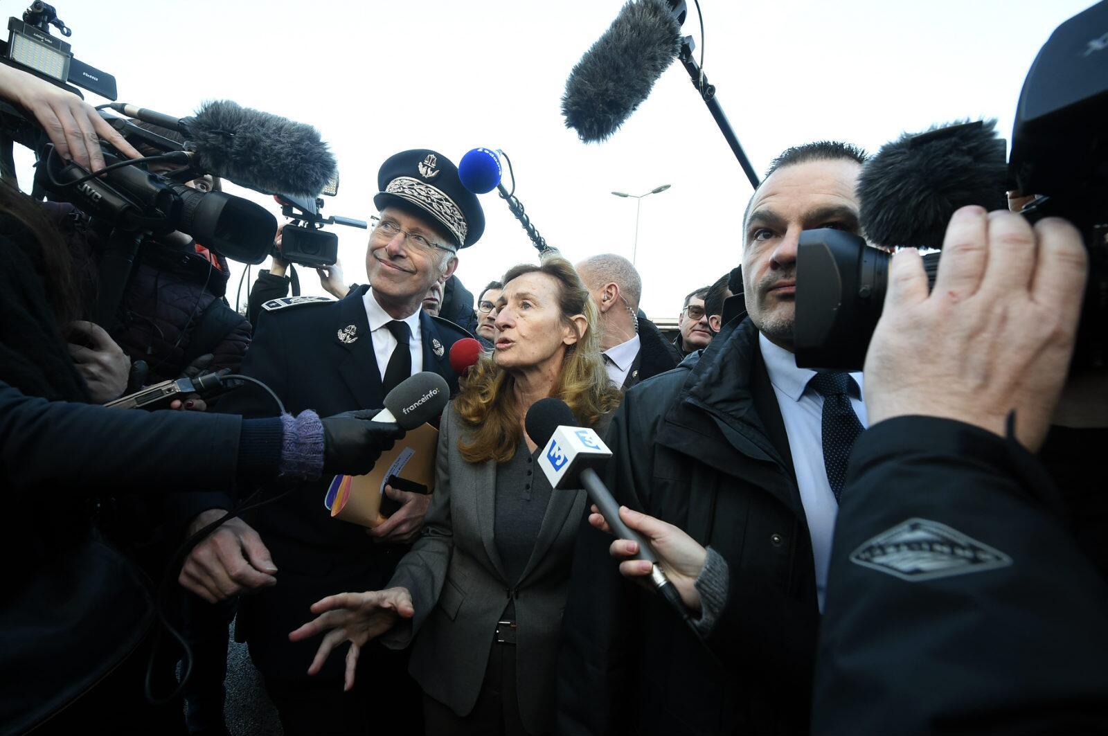 法国司法部长妮科尔?贝卢贝(图片来源:法新社)