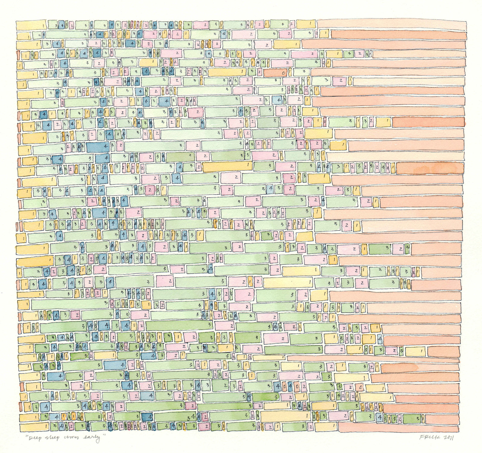 让大数据可视化,艺术家想用它帮我们选择更好的朋友