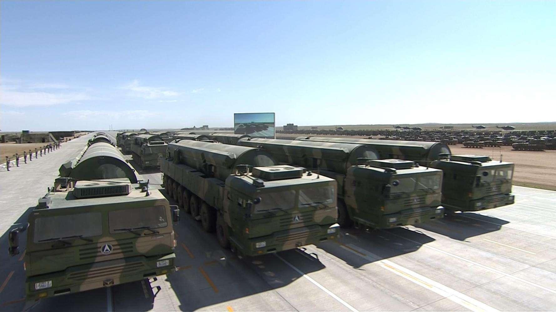 美媒列中国最具威慑五大导弹 有一种几乎