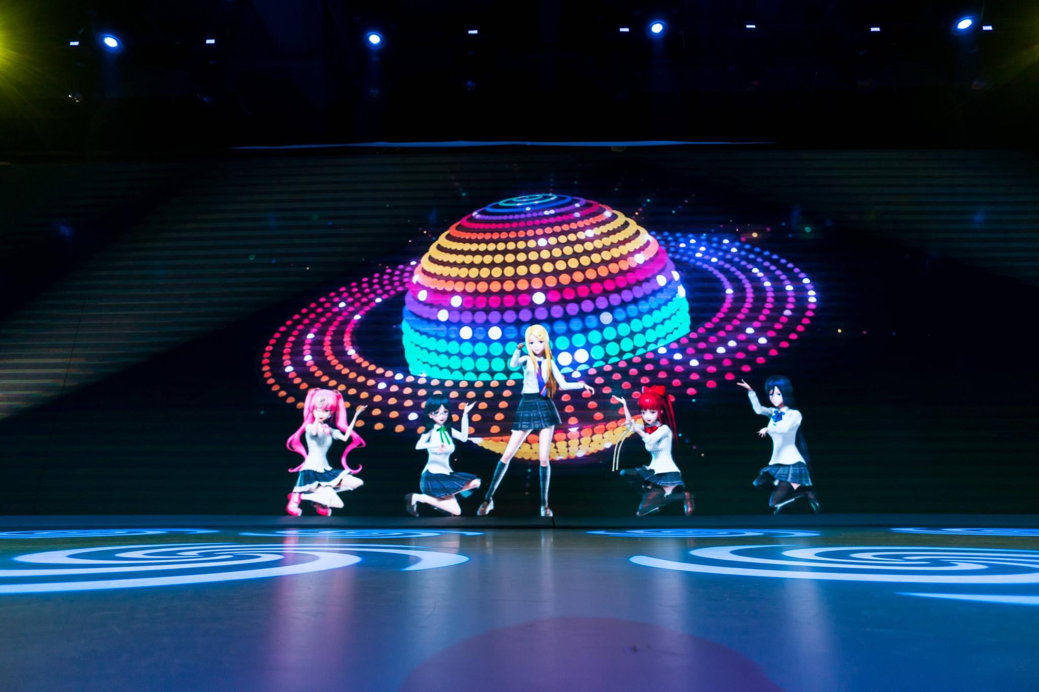 虚拟偶像团体And2girls,中国背后,有着怎样的洋气?