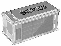 在建的阿斯伽迪亚1号卫星