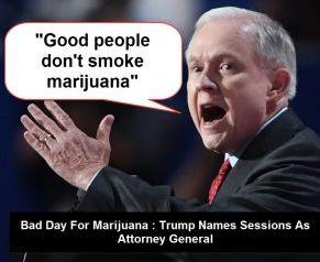"""(""""好人才不吸大麻!""""――美国现任司法部长Jeff Sessions)"""