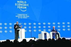 """世界经济论坛2018年年会于23日至26日在瑞士达沃斯举行,主题为"""""""