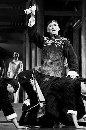 原创音乐剧《紫檀》北京上演:这是出爷们儿戏
