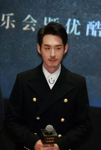 曹叡扮演者刘欢。受访者供图