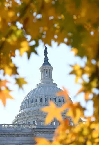▲资料图片:这是2017年12月1日在华盛顿拍摄的美国国会大厦。