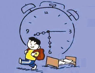上学:多地中时间推迟决定通知小学:让吴家吃好v时间孩子山小学图片