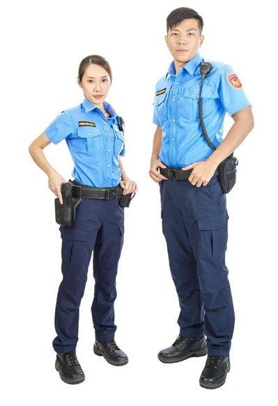 """台""""警政署""""公布票选的新制服。(图片来源:台湾联合新闻网)"""