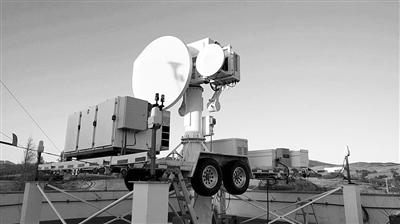 NASA在弗吉尼亚州沃洛普斯飞行基地部署的双频双极化多普勒雷达系统(D3R),该系统也在平昌冬奥会和残奥会期间监测雪情。图片来源:NASA官网