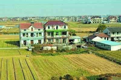 农村街头风景图片