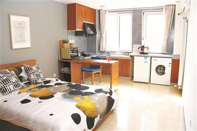 创客小镇一期共有2772套全家电精装创客公寓。 北京青年报 图