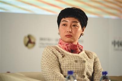 国美创始人黄光裕夫人杜鹃。图/视觉中国