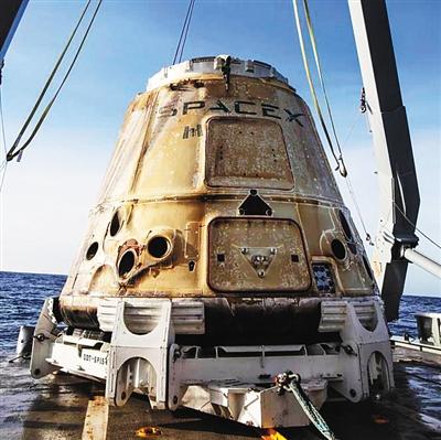 """""""龙""""飞船往返忙 SpaceX下场重头戏何时上演"""