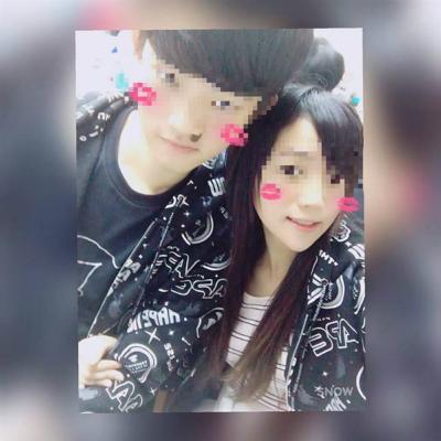 图为潘姓女子与男友的合照。(图片来源:台湾《中时电子报》)