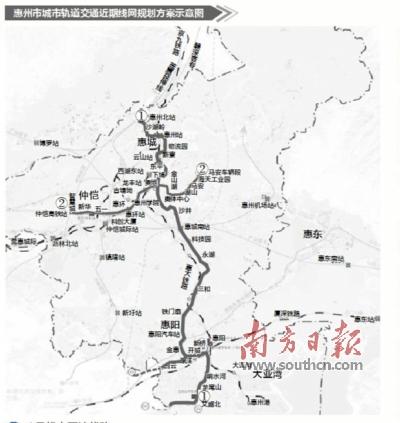 惠州水口最新规划图