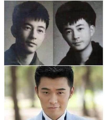 陈赫 陈赫的父亲很帅,而尴尬的是,陈赫居然成功躲过了父亲脸上的所有图片