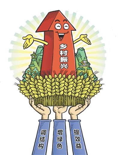 凝聚合力让农村更美、农民更富