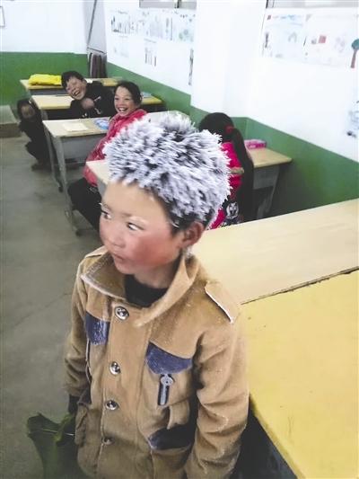 """人民日报:给""""冰花男孩""""扫除风霜尉氏二手房出售"""