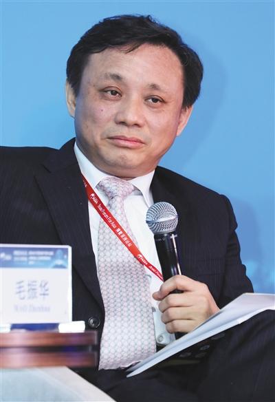 2015年3月26日,中诚信集团董事长毛振华出席博鳌亚洲论坛。图/视觉中国