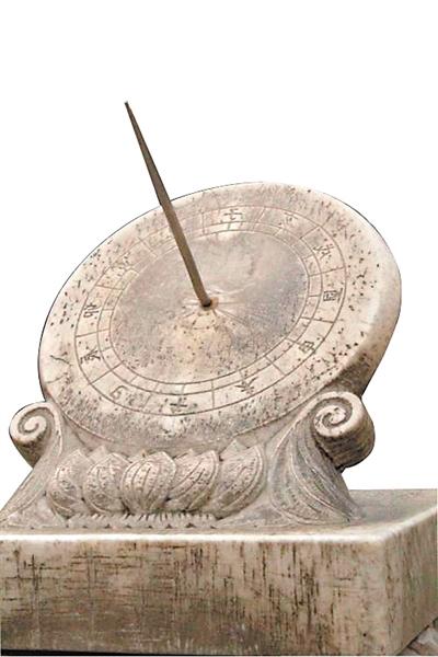 日晷计时年代久远