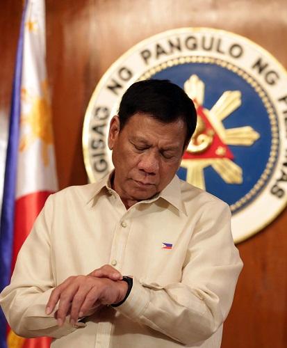 图为菲律宾总统杜特尔特(2016年6月30日) 新华社发