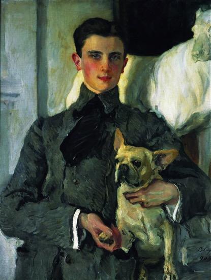 瓦伦丁·谢洛夫,《费利克斯·尤苏波夫肖像》 ,1903年,国立俄罗斯博物馆藏