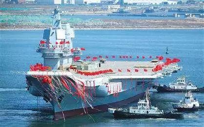 ▲中国首艘国产航母