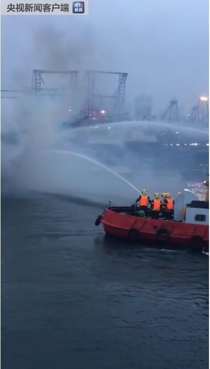 广西一渔船起火沉没阻航道 北海至涠洲岛停航