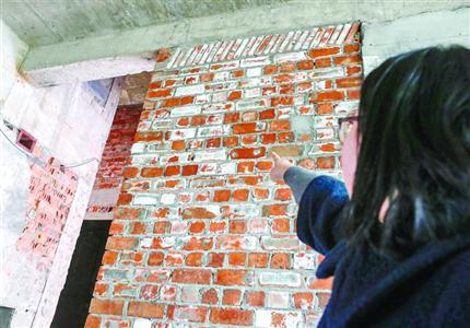 业主装修时墙上长满盐 装修公司承认小部分墙体用海砂