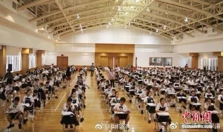 图:雅加达汉语水平考试6级考试现场