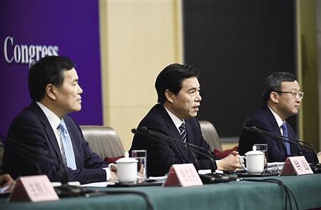 3月11日,商务部部长钟山、副部长兼国际贸易谈判副代表王受文、副