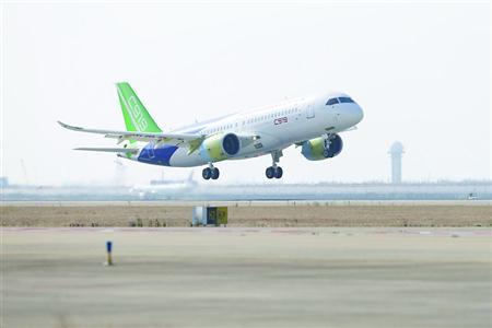 金沙网上娱乐官网:第二架C919国产大飞机首飞成功_C919何时完成试飞