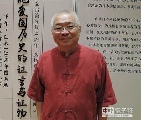 """前民进党""""立委""""朱高正。(资料图片来源:台湾《中时电子报》)"""